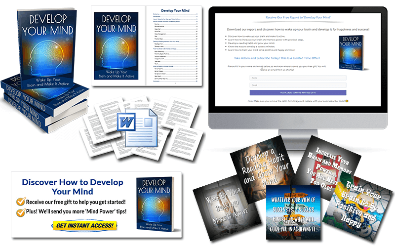 Develop Your Mind PLR Package
