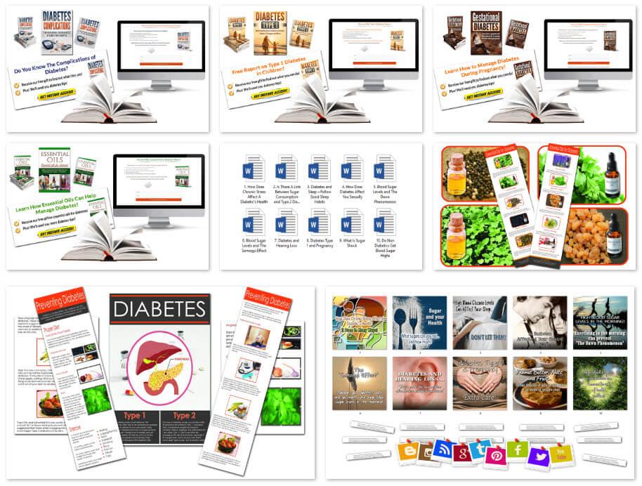 Diabetes PLR SUPER PACKAGE