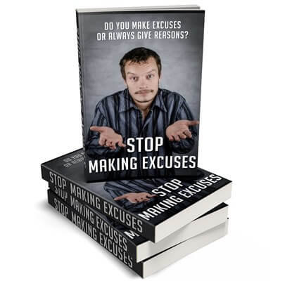 Excuses PLR eCover Graphic