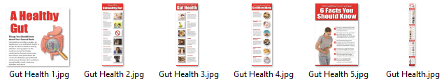 Gut Health Infographics