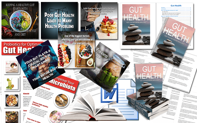Gut Health PLR Package
