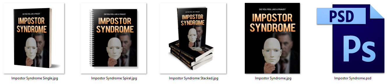 Impostor Syndrome PLR eCover Graphics