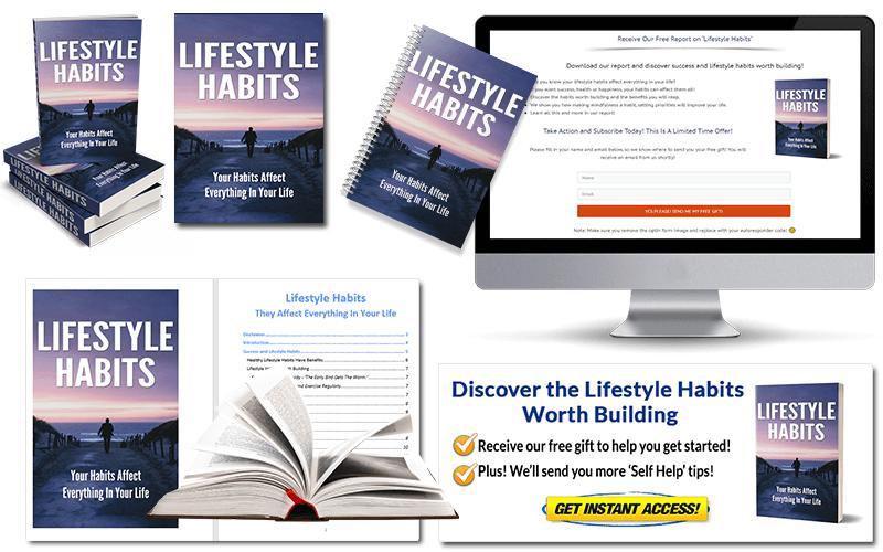 Lifestyle Habits PLR Package