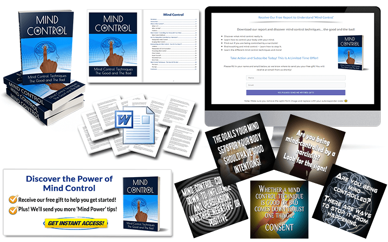 Mind Control PLR Package