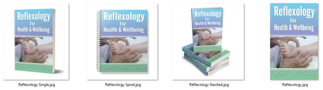 Reflexology PLR eCover Graphic