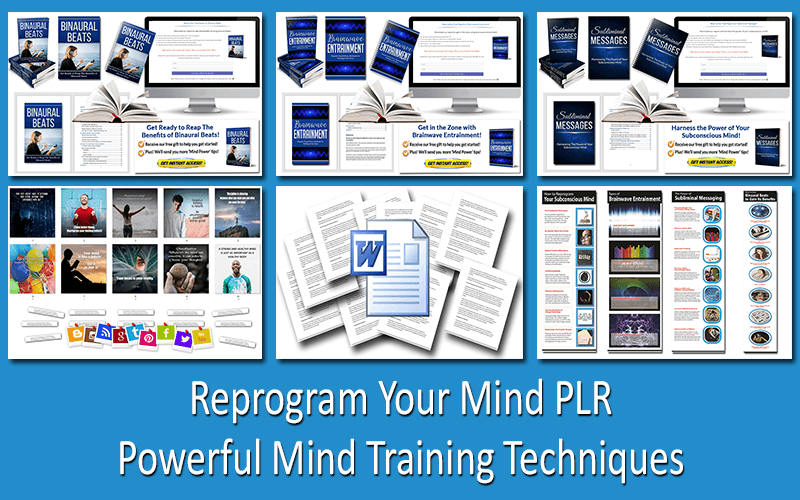 Reprogram Your Mind PLR - Powerful Mind Training Techniques