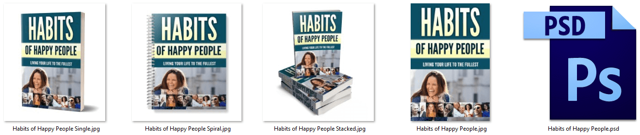 Habits of Happy People PLR Report eCovers