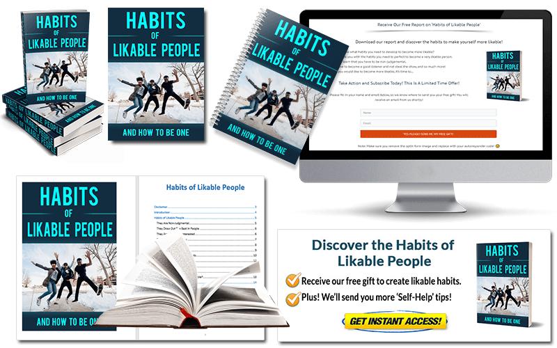 Habits of Likable People PLR Package