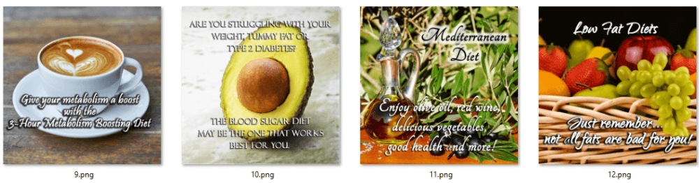 Healthy Eating PLR Posters 2