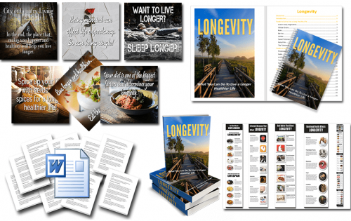 Longevity PLR Package
