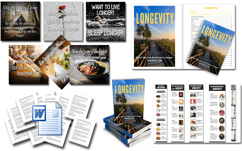 Longevity PLR Package