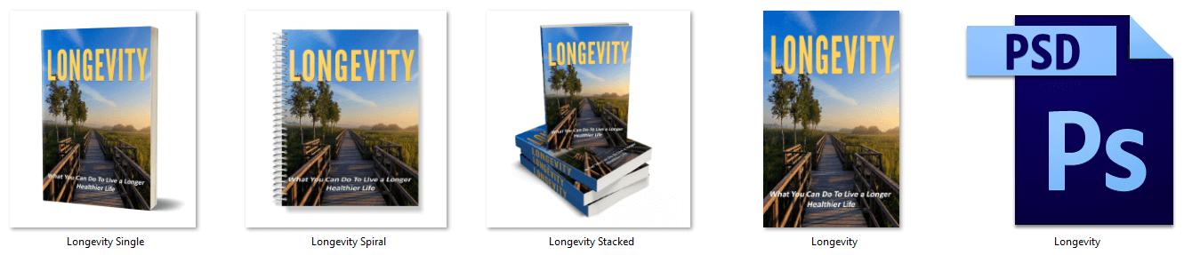 Longevity PLR eCover Graphics