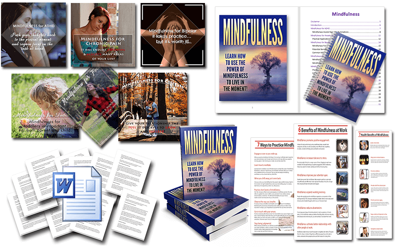 Mindfulness PLR Package