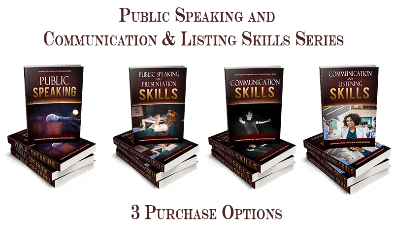 Public Speaking PLR & Communication & Listening Skills PLR Package