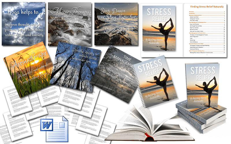 Stress Relief PLR Package