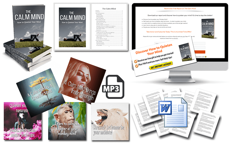 The Calm Mind PLR Package