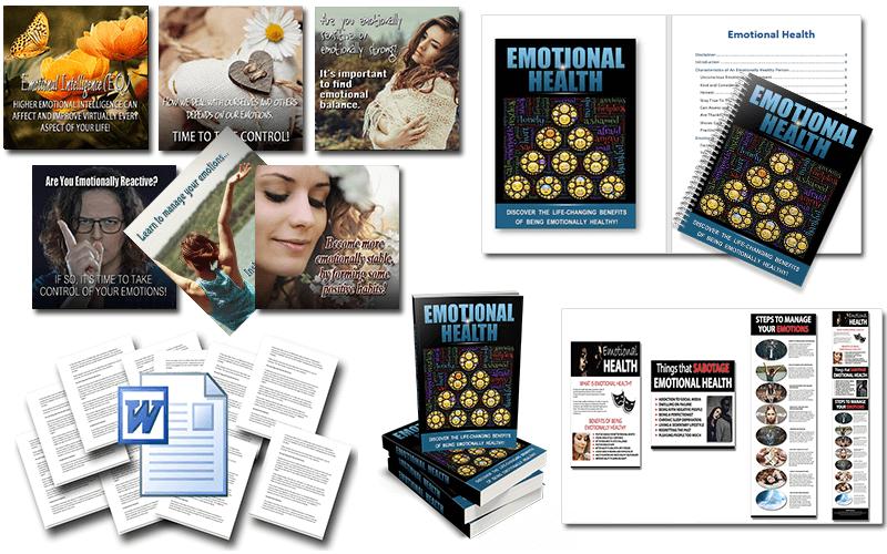 Emotional Health PLR Package