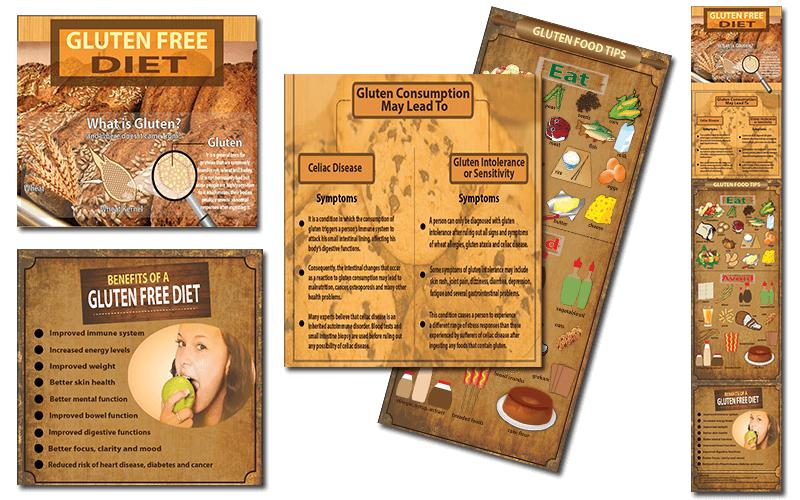 Gluten Free PLR Infographics