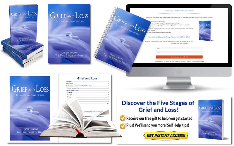 Grief PLR Report Pack