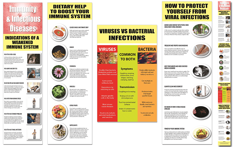 Infectious Diseases & Immune System PLR Infographics