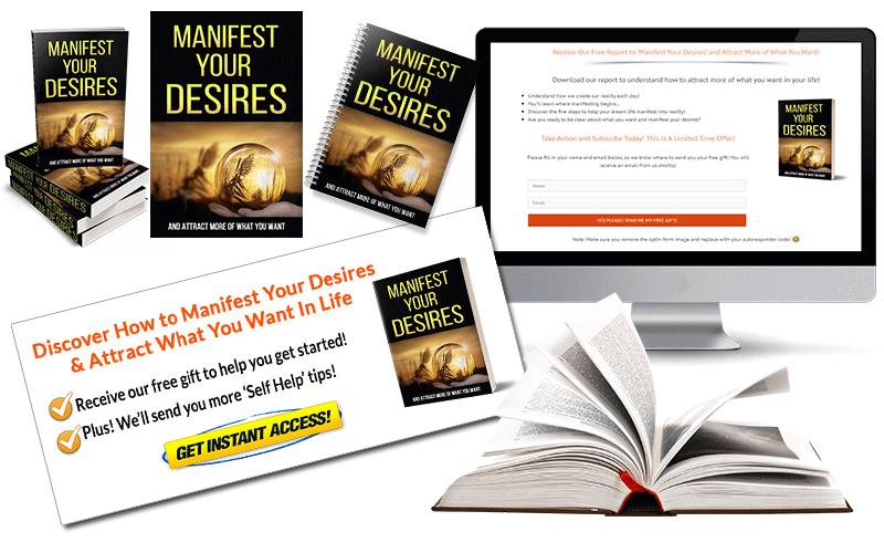 Manifest-Your Desires PLR-Package
