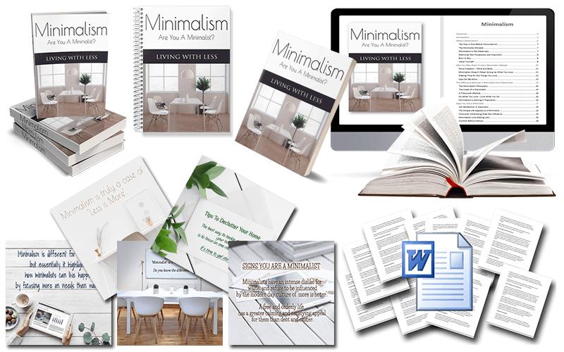 Minimalism PLR Package