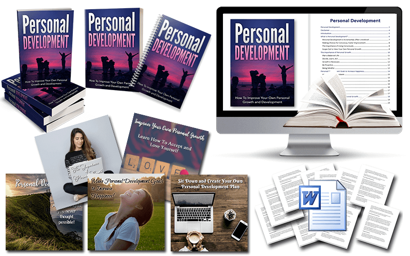 Personal Growth & Development PLR Package