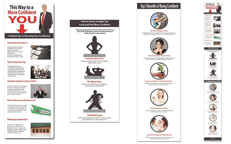 Self-Confidence PLR Infographics