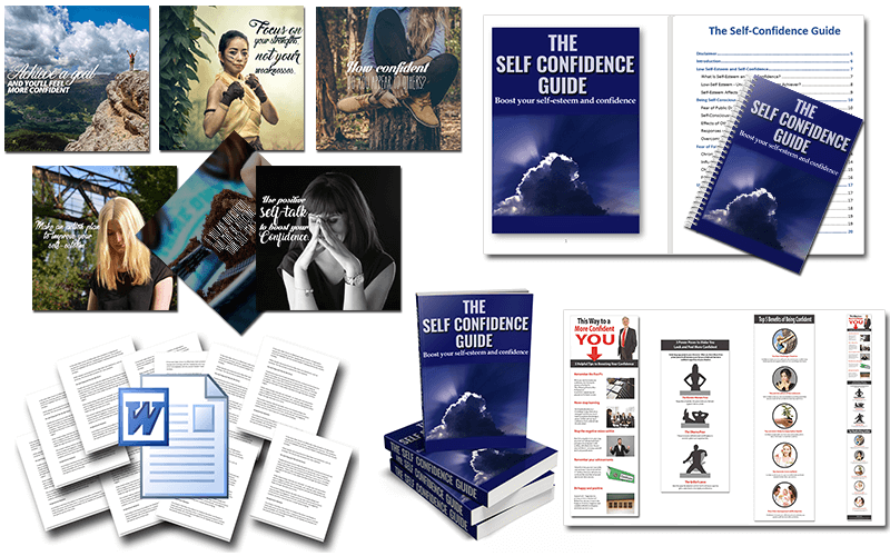 Self Confidence PLR Package