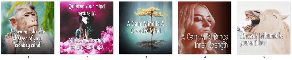The-Calm-Mind-PLR-Social-Posters