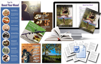 Boost Your Mood PLR Package