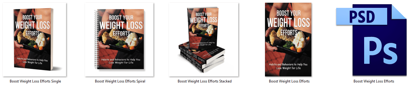 Boost Your Weight Loss Efforts PLR eBook