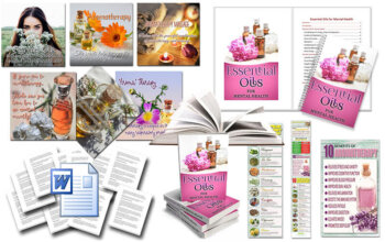 Essential Oils PLR Mental Health Report Package