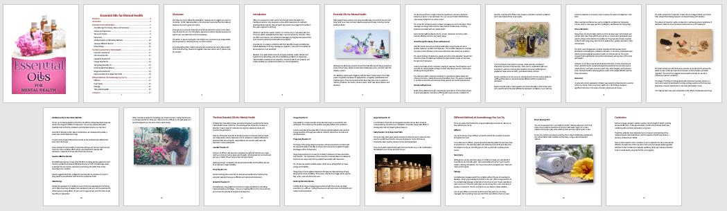 Essential Oils PLR Report