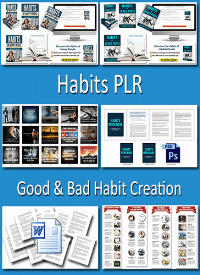 Habits PLR - Good and Bad Habits Creation