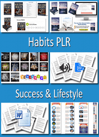 Habits PLR - Success and Lifestyle PLR