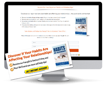 Habits and Relationships PLR Squeeze Page