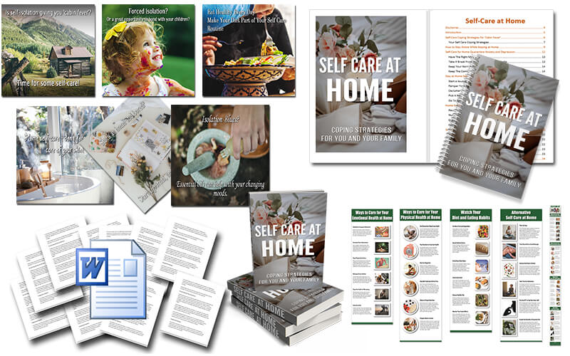Home Self Care PLR Package
