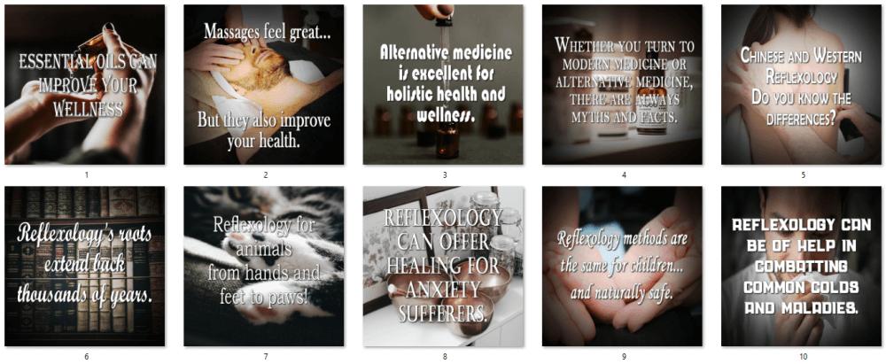 Reflexology Social Posters Bonus 1