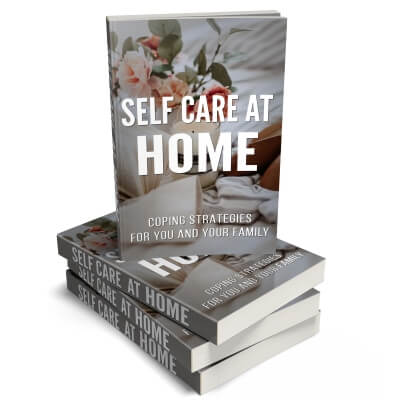 Self Care at Home PLR eBook Cover