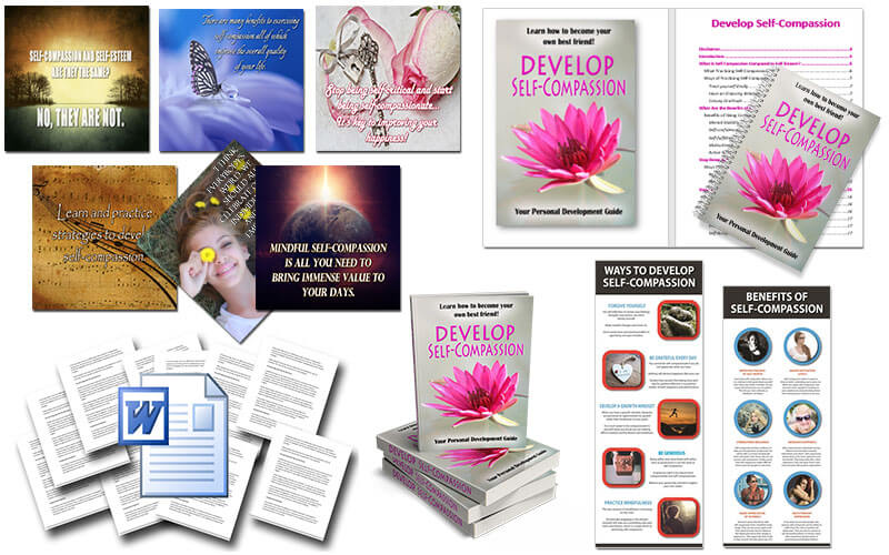 Self-Compassion PLR Package