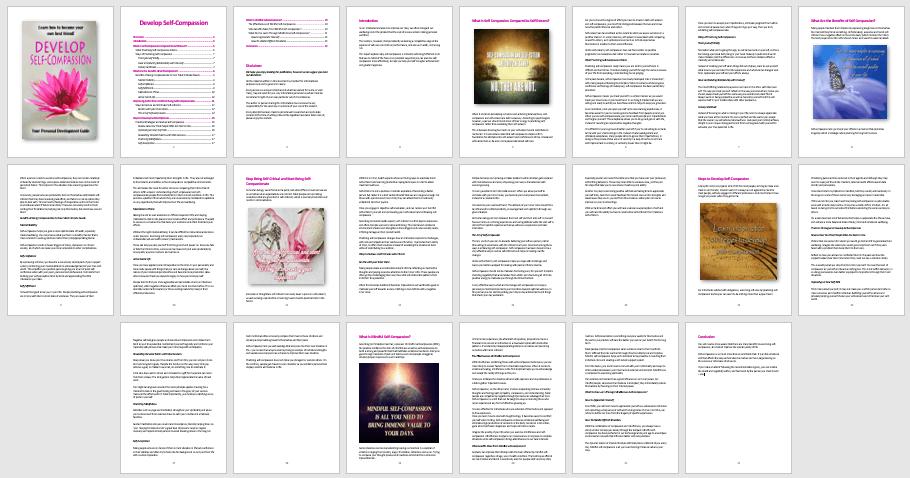 Self-Compassion PLR Report or eBook