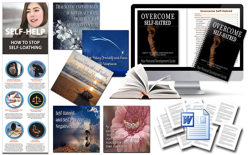 Overcome Self-Hatred PLR Package