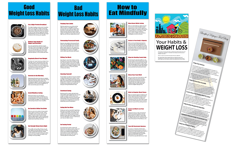 Boost Your Weight Loss Efforts PLR Infographics