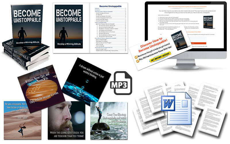 Become Unstoppable PLR