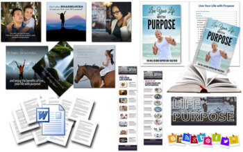 Life Purpose PLR - Live Your Life With Purpose PLR Package